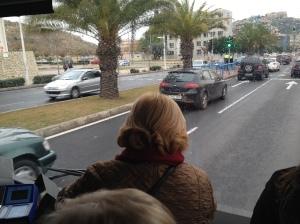 Autobús abarrotado