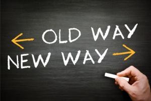old way new way