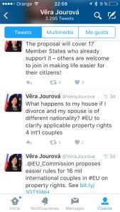 Vera_Jourová_reglamento_UE_régimen_economico_matrimonial_patrimonio_parejas_de_hecho